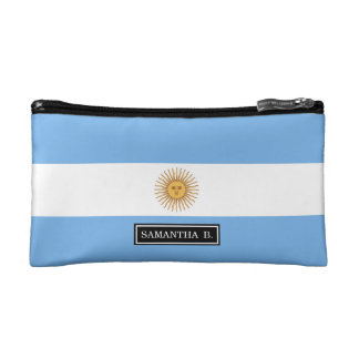 Traditional Argentina Flag Cosmetic Bags