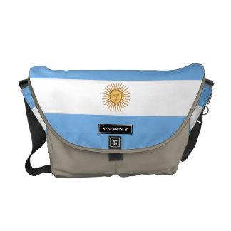 Traditional Argentina Flag Courier Bag