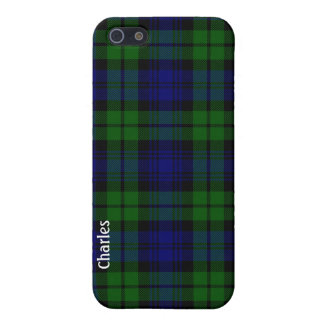 Traditional Black Watch Tartan Plaid iPhone 5/5S Cover