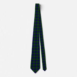 Traditional Black Watch Tartan Plaid Tie