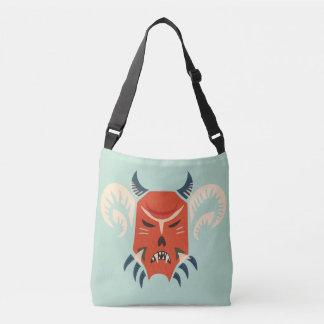 Traditional Bulgarian Kuker Mask - Evil Demon Tote Bag
