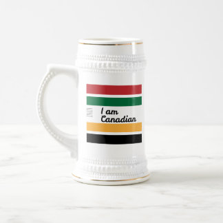 Traditional Canadian Blanket Beer Stein