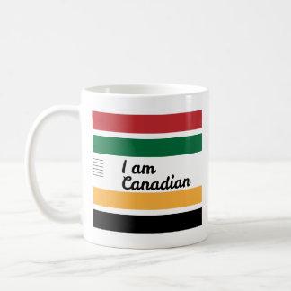 Traditional Canadian Blanket Classic White Mug