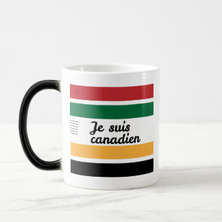 Traditional Canadian Blanket (French) Morphing Mug