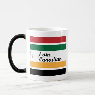 Traditional Canadian Blanket Morphing Mug