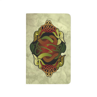 Traditional Celtic Dragon Art Journal