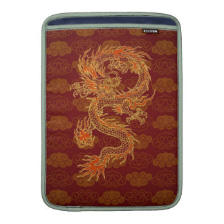 Traditional Chinese Red Dragon Sleeve For MacBook Air