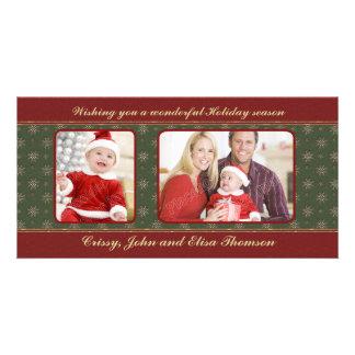 Traditional Christmas Design Photo Cards