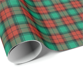 Traditional Christmas Plaid Bright Red and Green