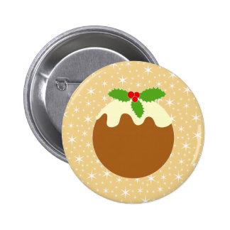 Traditional Christmas Pudding Pin