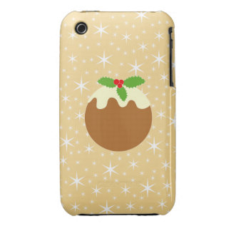 Traditional Christmas Pudding. iPhone 3 Case-Mate Case