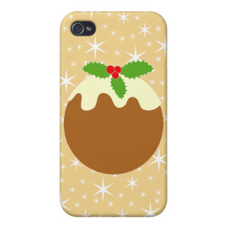 Traditional Christmas Pudding. iPhone 4/4S Covers