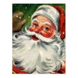 """""""Traditional Christmas Santa"""" Postcard"""