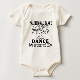Traditional Dance ain't just a dance Baby Bodysuits