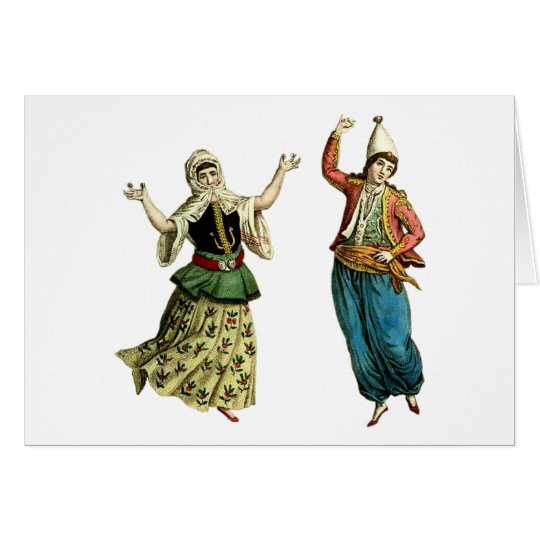 Traditional Dancers Card