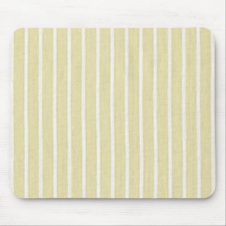 """""""Traditional Designs"""" Creamy Stripes Mouse Pad"""