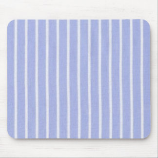 """""""Traditional Designs"""" Oxford Stripe Periwinkle Mouse Pad"""
