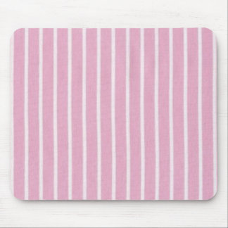 """""""Traditional Designs"""" Pink Stripe Mouse Pad"""
