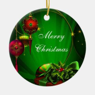 Traditional Elegant Christmas Tree Ornaments