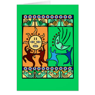 Traditional Elements Kwanzaa Greeting Cards