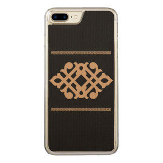 Traditional flower carved iPhone 7 plus case
