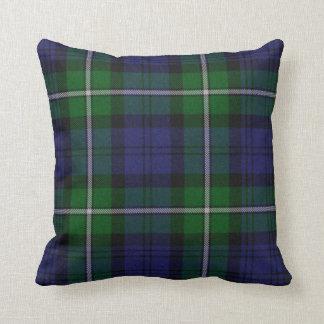 Traditional Forbes Tartan Plaid Pillow