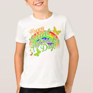 Traditional Happy Saint Patrick's Day T-Shirt