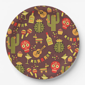 Traditional HHM Party Paper Plates