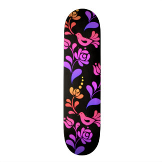 Traditional & Hip European Folk Art Skate Boards