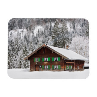 Traditional house in Bavaria rectangular magnet