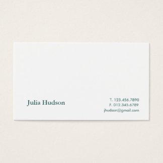 Traditional Hudson Card