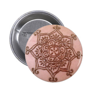 Traditional indian henna button