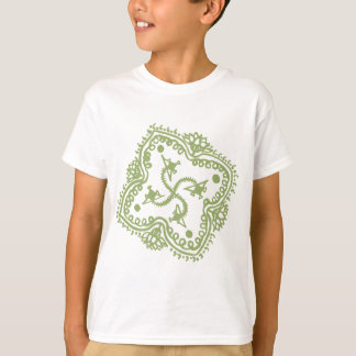 Traditional Indian style Mandana T-Shirt