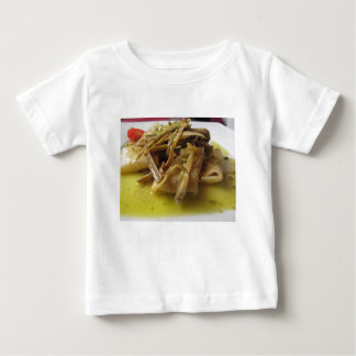 Traditional italian Paccheri pasta with artichokes Baby T-Shirt