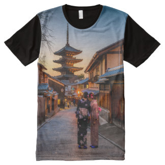 Traditional Japan All-Over Print T-Shirt