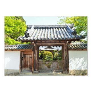 Traditional Japanese Architecture Invitation