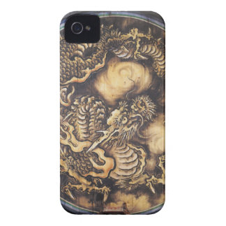 Traditional Japanese Oriental Dragon - 日本 - 鳴き龍 iPhone 4 Case-Mate Case