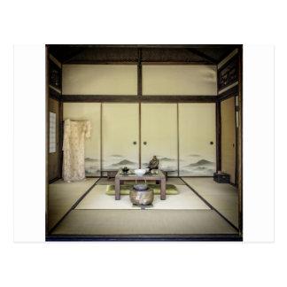 Traditional Japanese Room Postcard
