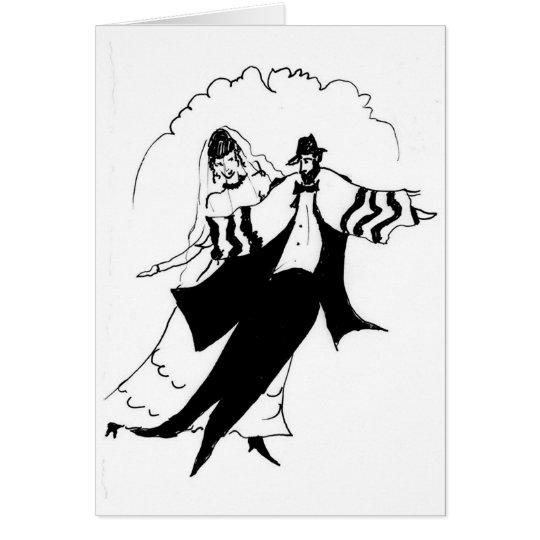 Traditional Jewish Wedding Card
