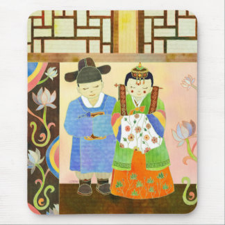 Traditional Korean Wedding(#1) Mousepad