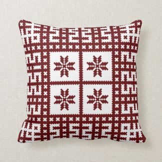 Traditional Latvian Motif Auseklis Cushion