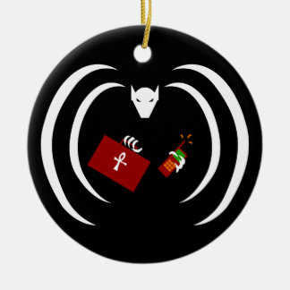 Traditional Logo on Holiday Ornament