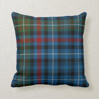 Traditional MacDonald Tartan Plaid Pillow
