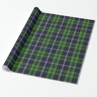 Traditional MacKellar Tartan Plaid Wrapping Paper