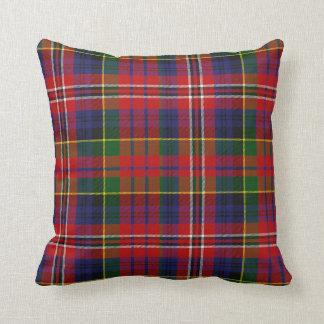 Traditional MacPherson Tartan Plaid Pillow