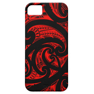 Traditional Maori Kirituhi art from New-Zealand Barely There iPhone 5 Case