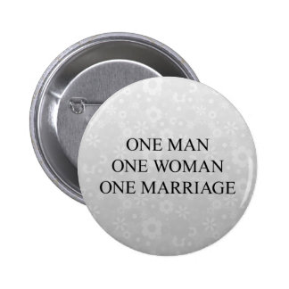Traditional Marriage Button