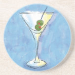 Traditional Martini Drink Coaster