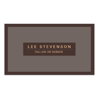 Traditional Masculine Professional  Business card