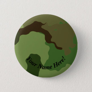 Traditional military camouflage. 6 cm round badge
